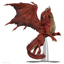 FIGURINES JEU DE ROLE -  ADULT RED DRAGON -  ICONS OF THE REALMS