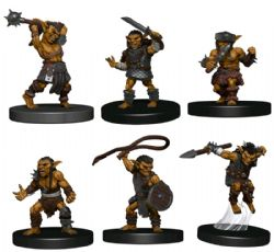 FIGURINES JEU DE ROLE -  GOBLIN WARBAND -  ICONS OF THE REALMS