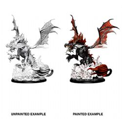 FIGURINES JEU DE ROLE -  NIGHTMARE DRAGON -  PATHFINDER BATTLES DEEP CUTS