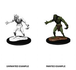 FIGURINES JEU DE ROLE -  RAGING TROLL -  D&D NOLZUR'S MARVELOUS UNPAINTED MINIATURES