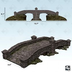 FIGURINES JEU DE ROLE -  STONE BRIDGE -  WIZKIDS 4D SETTINGS