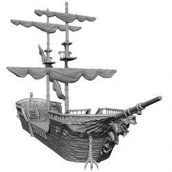 FIGURINES JEU DE ROLE -  THE FALLING STAR SAILING SHIP -  NOLZUR'S MARVELOUS MINIATURES