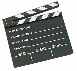 FILM -  CLAP (29,5 X 26 CM)