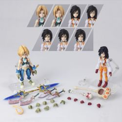 FINAL FANTASY -  ENSEMBLE DE FIGURINE DE ZIDANE & GARNET (10CM) -  FINAL FANTASY IX