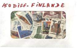 FINLANDE -  150 DIFFÉRENTS TIMBRES - FINLANDE