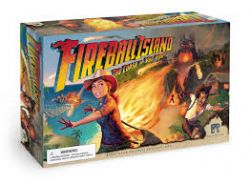 FIREBALL ISLAND: THE CURSE OF VUL-KAR -  JEU DE BASE (ANGLAIS)