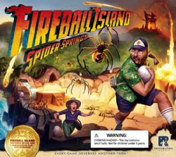 FIREBALL ISLAND: THE CURSE OF VUL-KAR -  SPIDER SPRINGS (ANGLAIS)