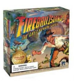 FIREBALL ISLAND: THE CURSE OF VUL-KAR -  THE LAST ADVENTURER (ANGLAIS)