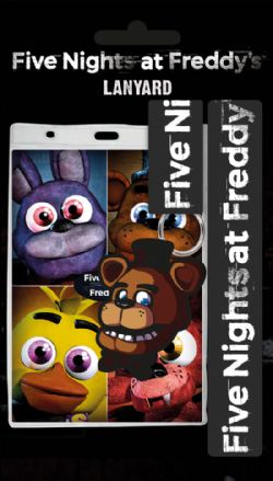 FIVE NIGHTS AT FREDDY'S -  PORTE-CLÉ