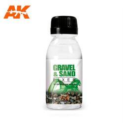 FIXATEUR -  FIXATEUR DE GRAVIER ET SABLE (100 ML) -  AK INTERACTIVE