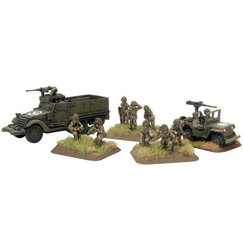 FLAMES OF WAR -  COMPANY HQ -  AMERICAIN
