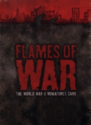 FLAMES OF WAR -  FLAMES OF WAR RULE BOOK - THIRD EDITION