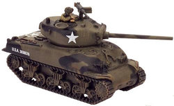 FLAMES OF WAR -  M4A1 (76) SHERMAN -  AMERICAIN