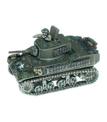 FLAMES OF WAR -  M5A1 STUART -  AMERICAIN