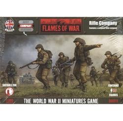 FLAMES OF WAR -  RIFLE COMPANY -  ANGLAIS
