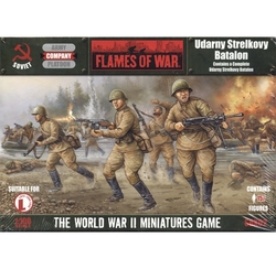 FLAMES OF WAR -  UDARNY STRELKOVY BATALON -  SOVIETIQUE