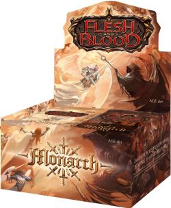 FLESH AND BLOOD -  FIRST EDITION BOOSTER BOX (ANGLAIS) -  MONARCH