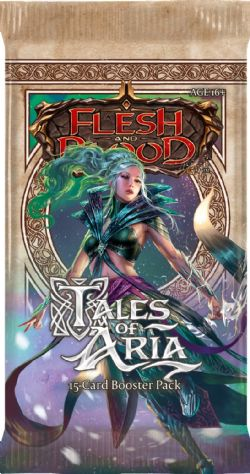 FLESH AND BLOOD -  FIRST EDITION BOOSTER PACK (P15/B24/C4) (ANGLAIS) **LIMITE 1 BOÎTE (24 PAQUETS) PAR CLIENT / ADRESSE** -  TALES OF ARIA