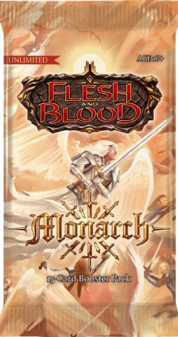 FLESH AND BLOOD -  UNLIMITED BOOSTER PACK (P15/B24/C4) (ANGLAIS) -  MONARCH