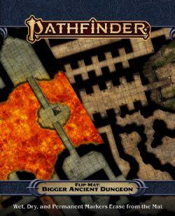 FLIP-MAT -  BIGGER ANCIENT DUNGEON -  PATHFINDER