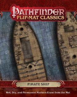 FLIP-MAT CLASSICS -  PIRATE SHIP -  PATHFINDER