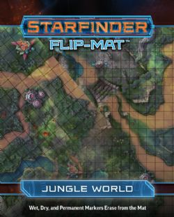 FLIP-MAT -  JUNGLE WORLD -  STARFINDER