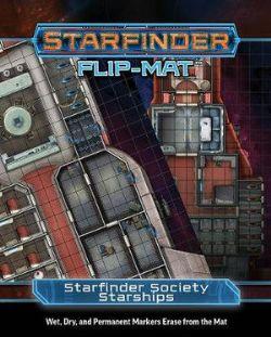 FLIP-MAT -  STARFINDER SOCIETY STARSHIPS -  STARFINDER