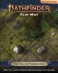 FLIP-MAT -  THE FALL OF PLAGUESTONE -  PATHFINDER