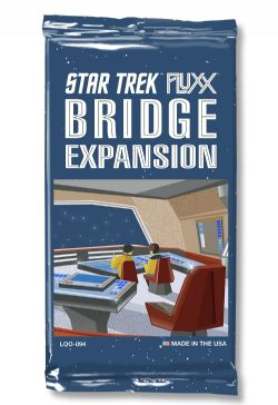 FLUXX -  STAR TREK - BRIDGE EXPANSION (ANGLAIS)