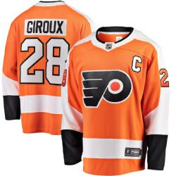 FLYERS DE PHILADELPHIE -  CLAUDE GIROUX #28 - CHANDAIL RÉPLIQUE ORANGE