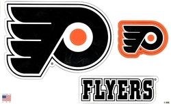 FLYERS DE PHILADELPHIE -  ENSEMBLE D'AIMANTS