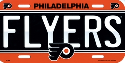 FLYERS DE PHILADELPHIE -  PLAQUE D'IMMATRICULATION