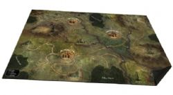 FOLKLORE : THE AFFLICTION -  OVERSIZED CLOTH WORLD MAP (ANGLAIS)