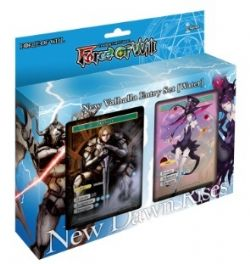 FORCE OF WILL -  NEW VALHALLA - WATER STARTER DECK (P68) -  NEW DAWN RISES