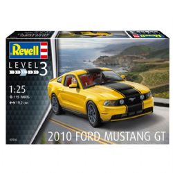 FORD -  2010 FORD MUSTANG GT 1/25 (NIVEAU 3 - MOYEN)