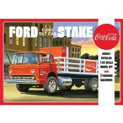 FORD -  AMT FORD C600 STAKEBED AVEC MACHINE A COKE 1/25 ÉCHELLE DE 1147