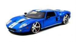 FORD -  GT 2005 1/24 - BLEU -  RAPIDE ET DANGEREUX