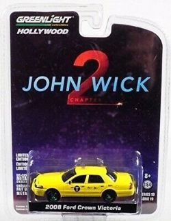 FORD -  JOHN WICK 2 2008 FORD CROWN VICTORIA 1/64 -  HOLLYWOOD SERIES 19