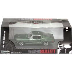 FORD -  MUSTANG GT 1968 1/43 - VERT -  BULLITT