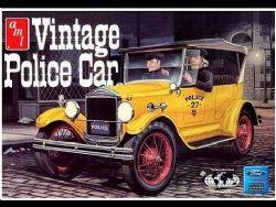 FORD -  VINTAGE POLICE CAR 1/25 (NIVEAU 2 - FACILE)