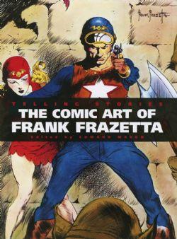 FRANK FRAZETTA -  TELLING STORIES CLASSIC COMIC ART OF FRANK FRAZETTA DELUXE HC