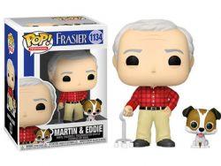 FRASIER -  FIGURINE POP! EN VINYLE DE MARTIN ET EDDIE (10 CM) 1134