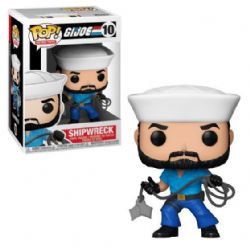 G.I. JOE -  FIGURINE POP! EN VINYLE DE SHIPWRECK (10 CM) 10