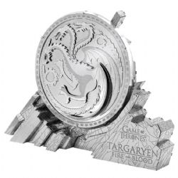 GAME OF THRONES -  HOUSE TARGARYEN SIGIL - 1 FEUILLE