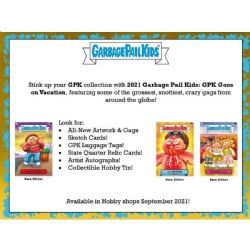 GARBAGE PAIL KIDS -  TOPPS - GOES ON VACATION (P8/B24)