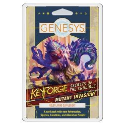 GENESYS -  MUTANT INVASION (ANGLAIS) -  KEYFORGE : SECRETS OF THE CRUCIBLE