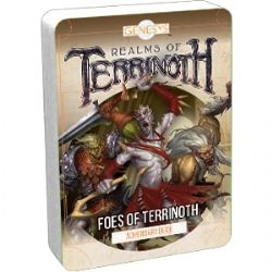 GENESYS : REALMS OF TERRINOTH -  FOES OF TERRINOTH (ANGLAIS)