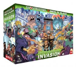 GHOSTBUSTERS AND MEN IN BLACK : ECTO-TERRESTRIAL INVASION (ANGLAIS)