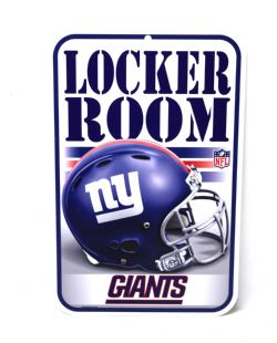 GIANTS DE NEW YORK -  AFFICHE LOCKER ROOM