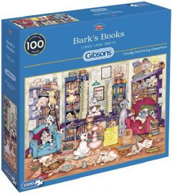 GIBSONS -  BARK'S BOOKS (1000 PIÈCES)